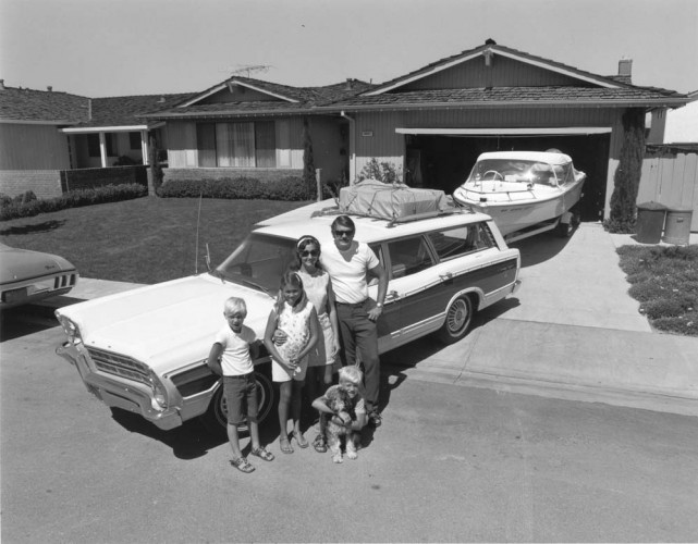 "Bill Owens, Untitled. From the series ""Suburbia"", 1973. Gelatin-silver print, 7 x 9 inches. Image courtesy of the artist and Robert Koch Gallery. © Bill Owens"