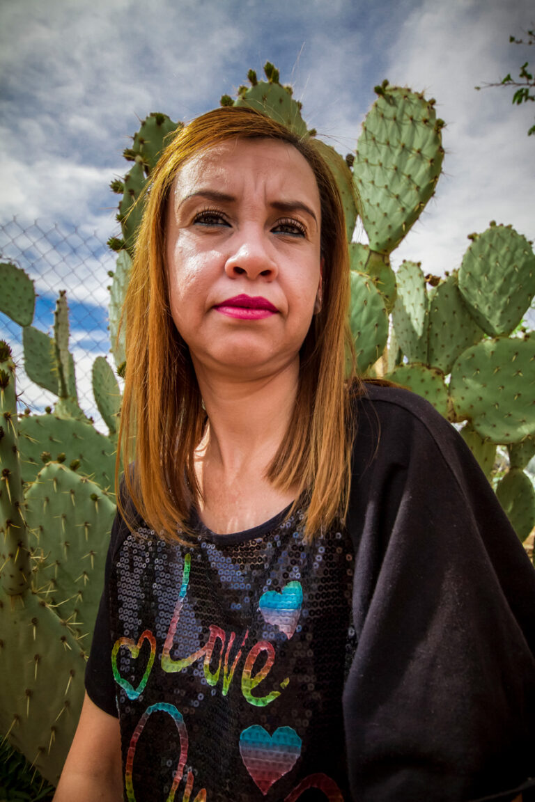 Bertha Alicia Alvarado Arce from the Mexican Woman's Post-Apocalyptic Survival Guide in the Southwest: Food, Clothing, Shelter, y La Migra series, 2019