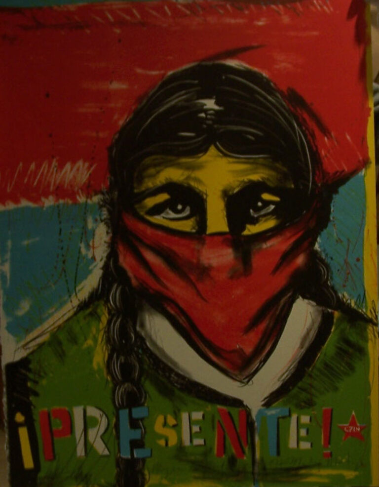 Mujer Zapatista, 1998